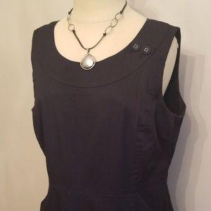 Banana Republic ~  Black Sleeveless Dress